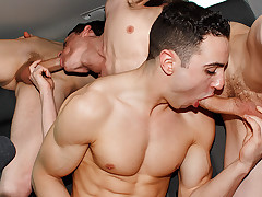 Muscle Pal Jake Gets Bought - Jake Kelvin, Sean McKenzie And Reece Bentley